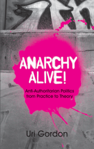 Cover for Uri Gordon's Anarchy Alive!