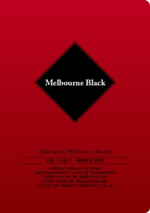 Cover for Melbourne Black #1
